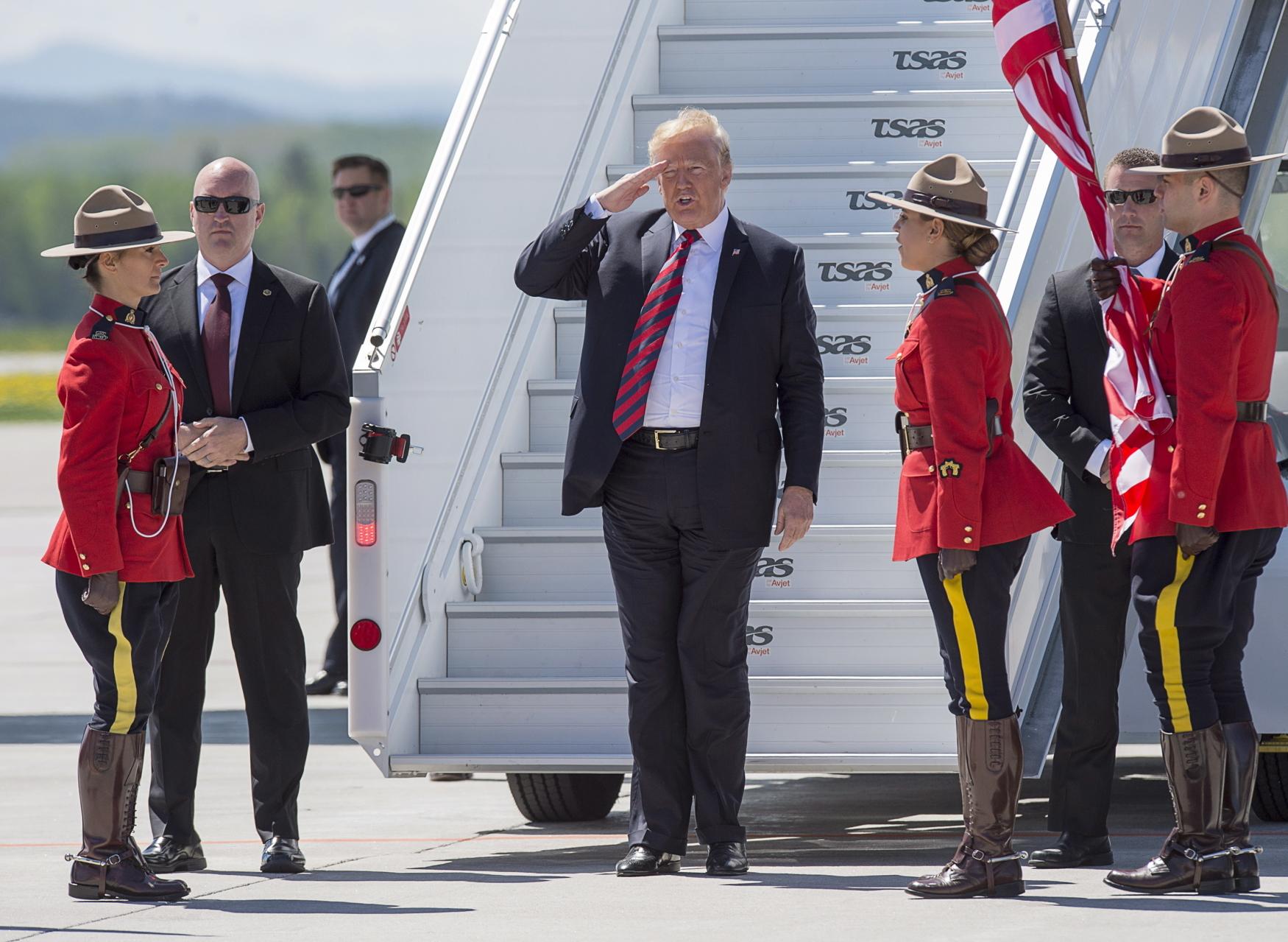 Donald Trump na summitu G7 v Kanadě