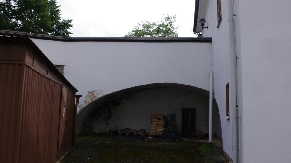 Původní hradby
