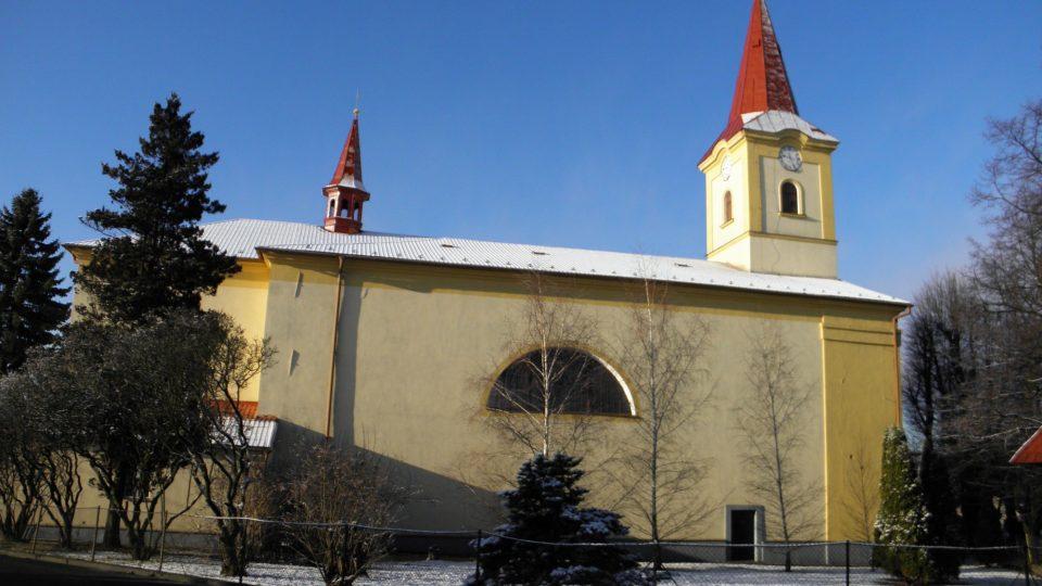 Kostel má velmi starou historii