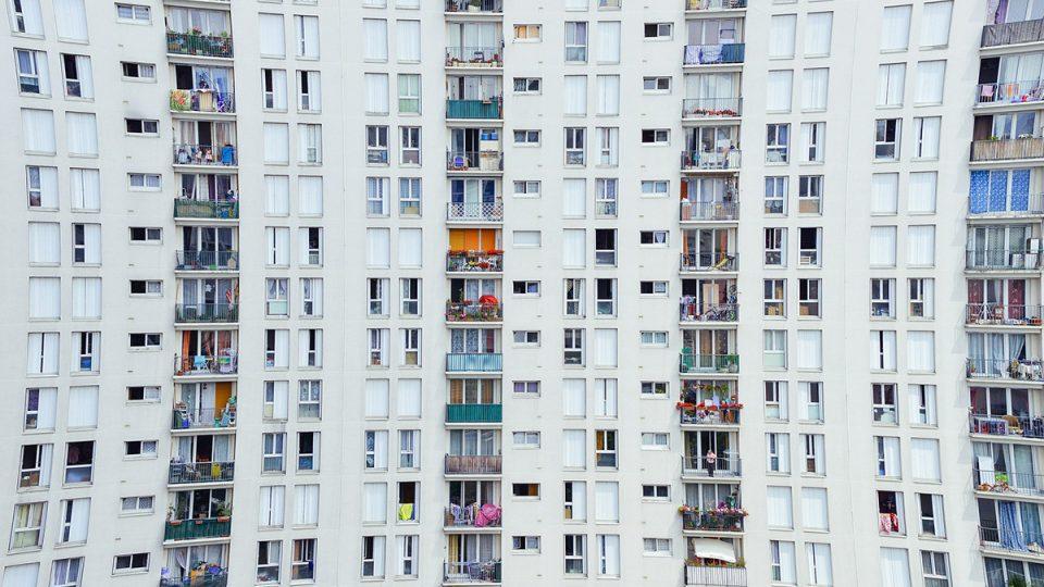 byty, panelový dům, panelák