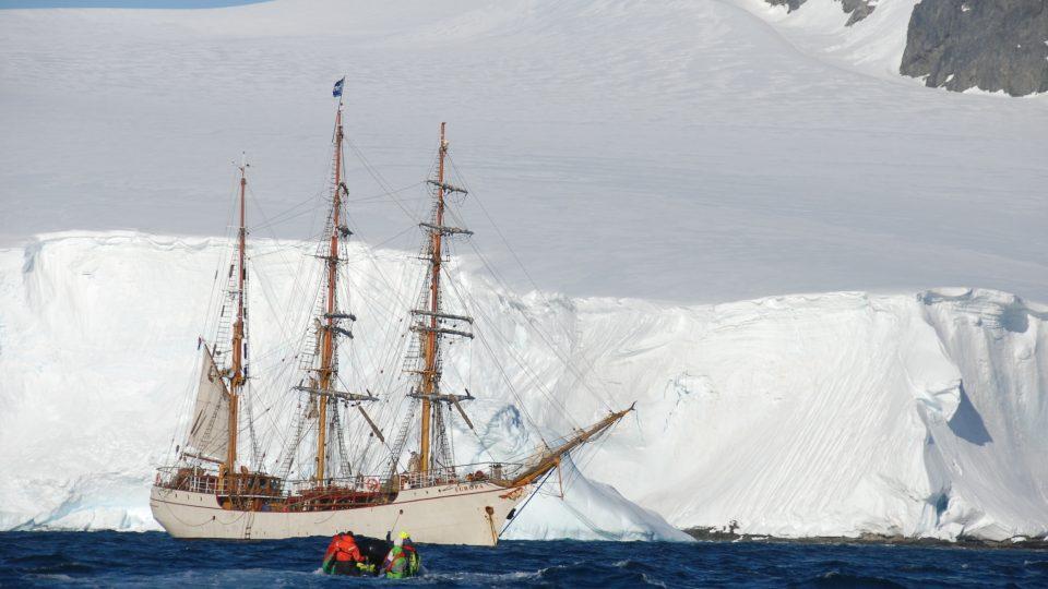 Cesta na Antarktidu
