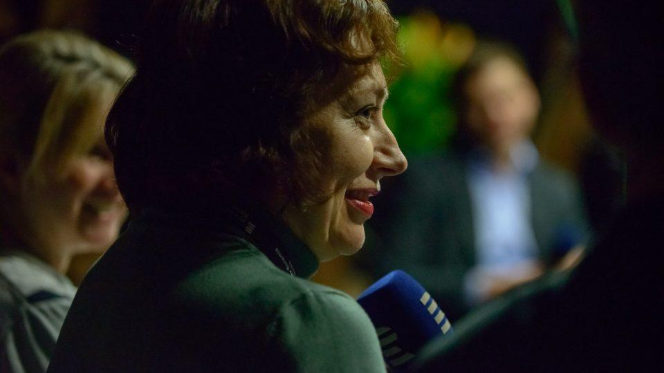 Klára Stejskalová v porotě kategorie Reportáž