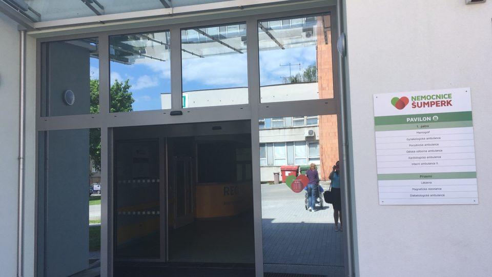 Nové oddělení šumperské nemocnice
