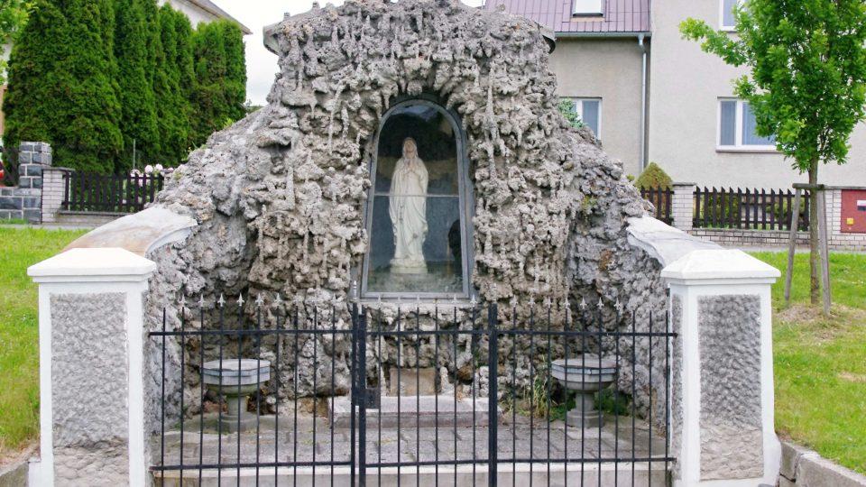 Lurdská kaple ve Velkém Újezdě