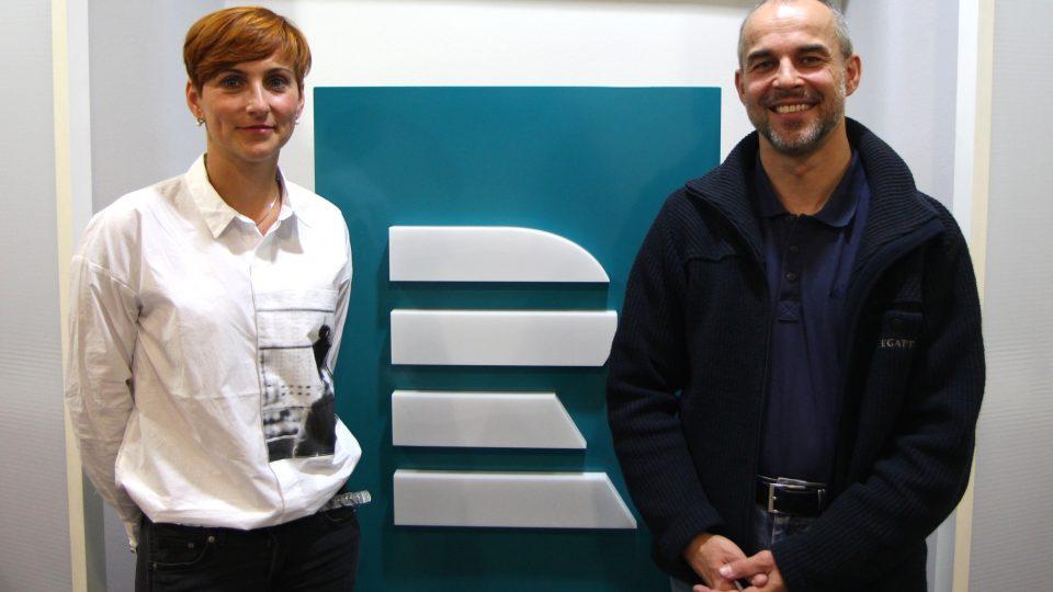 Kateřina Tichá a Emil Berta z olomouckého mobilního hospice