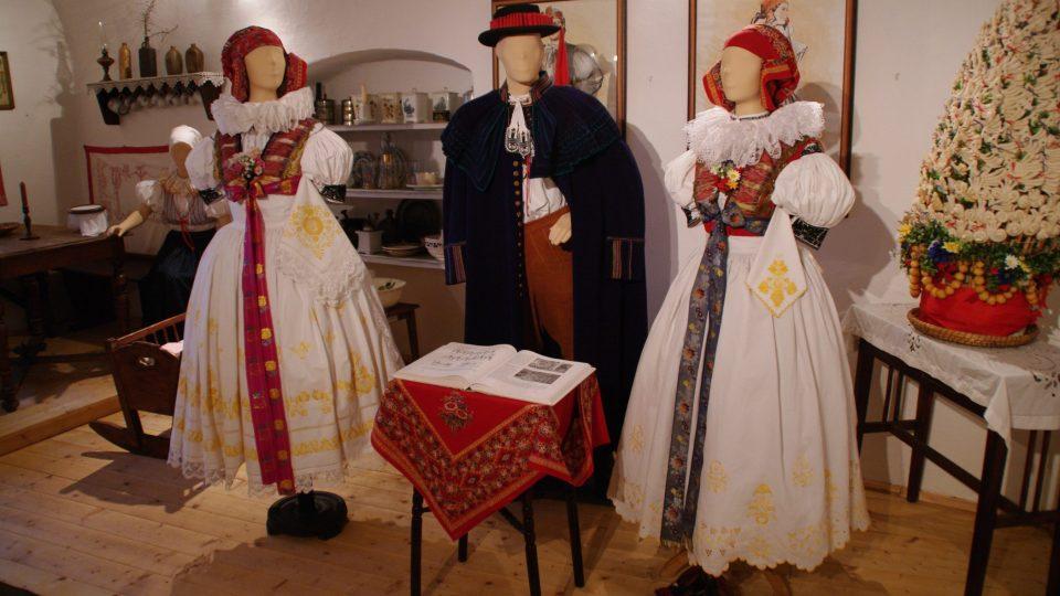 V muzeu jsou k vidění i místní hanácké kroje