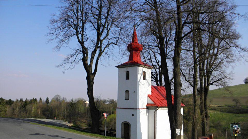 Kaple Panny Marie Pomocné ze 2. poloviny 19. století