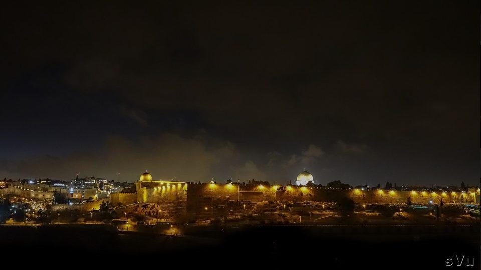 Noční Jeruzalém