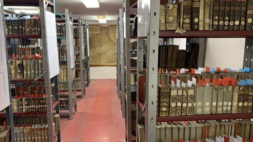 Procházka depozitáři muzea v Hranicích