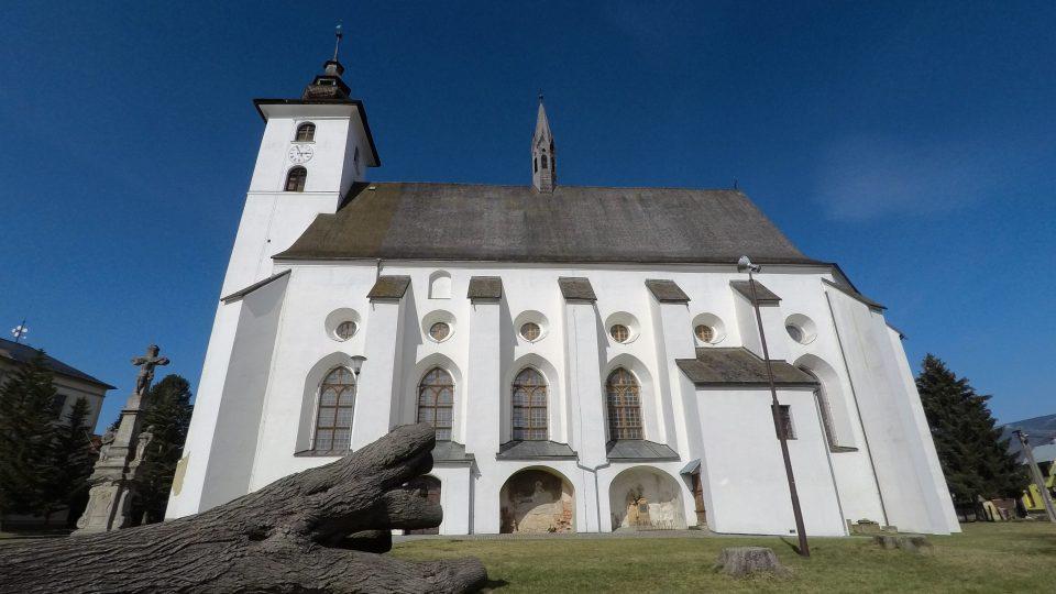 Kostel ve Velých Losinách