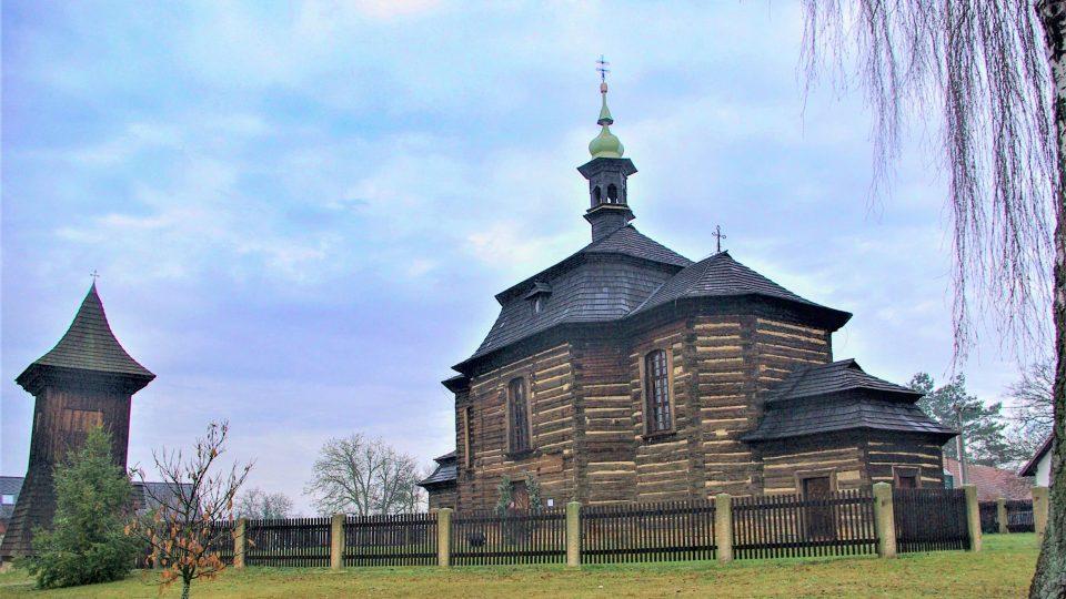 Kostelík sv. Jiří v Loučné Hoře u Smidar
