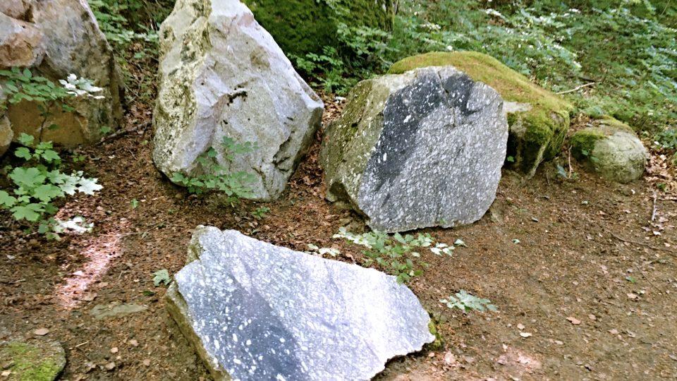 Leštěná plocha rázem změní vzhled horniny