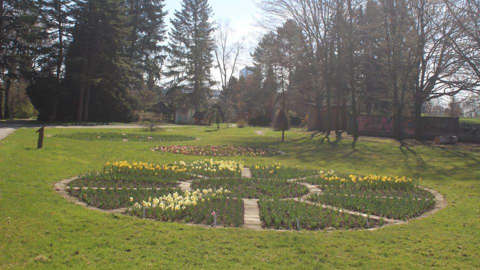 Procházka rozkvétající botanickou zahradou v Olomouci