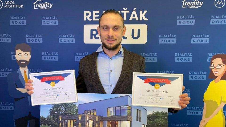 Adam Šimoník, Realiťák roku Olomouckého kraje