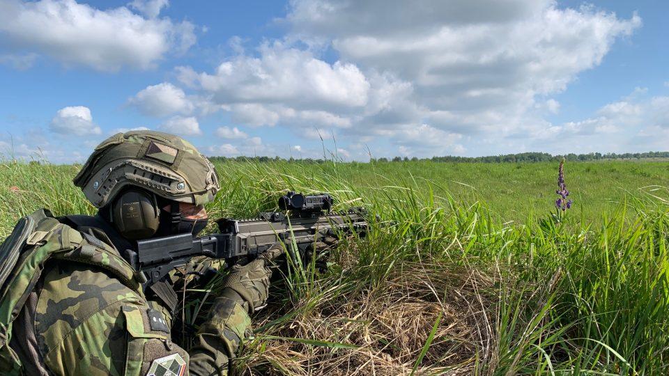 Vojenské cvičení Adamant Warrior 2020