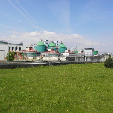 Čistírna odpadních vod v Olomouci