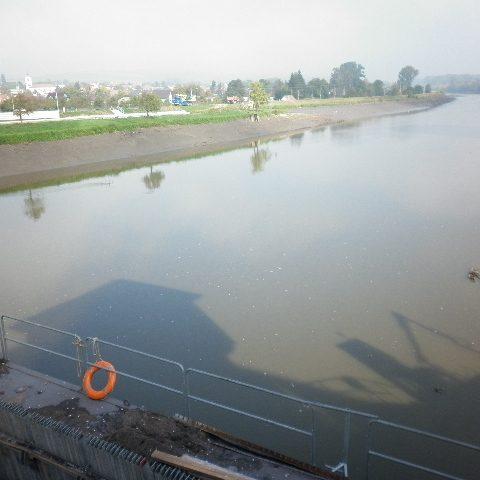 Morava je na třináctikilometrovém úseku jen půl metru hluboká