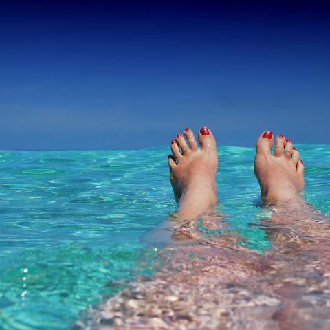 Maledivy, dovolená, relax, moře