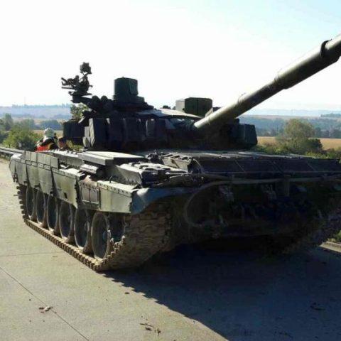 Tank na dálnici D35
