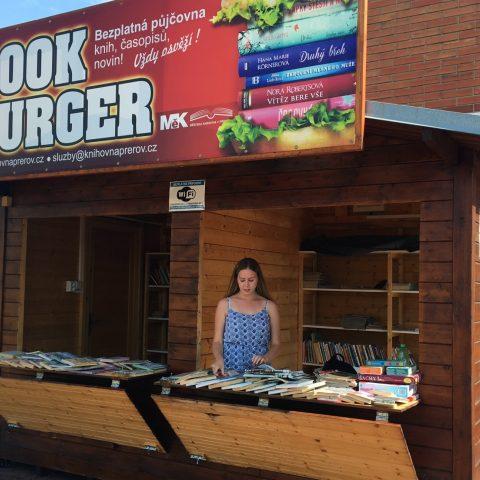Book Burger v Přerově