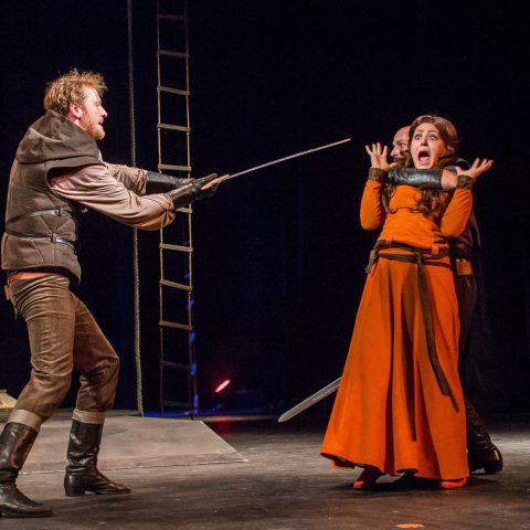 Z představení Robin Hood, Moravské divadlo Olomouc