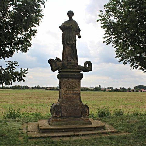 Socha sv. Norberta nad Tážaly