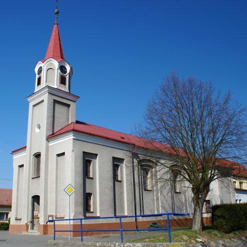 Kostel sv. Cyrila a Metoděje z roku 1868