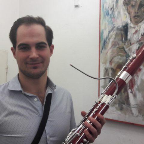 Fagotista Jan Hudeček