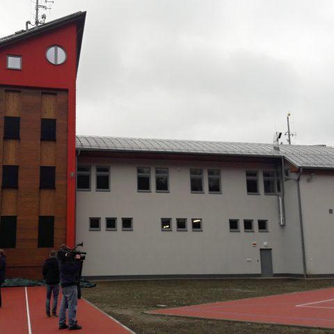 Nová hasičská stanice v Konici