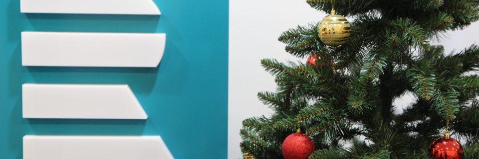 Logo a vánoční stromeček