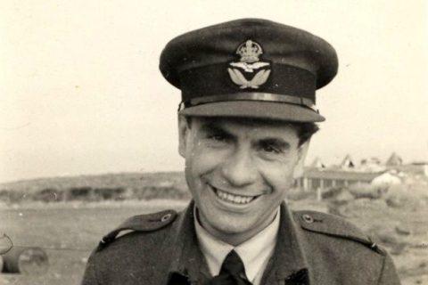 Válečný pilot František Fajtl