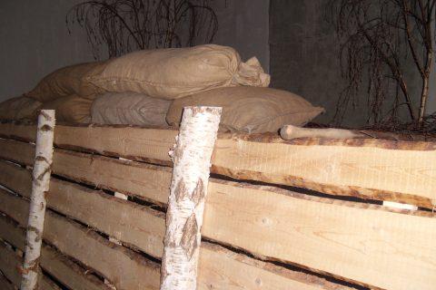 Muzeum vojenské historie Staroměstska - ukázka zákopu