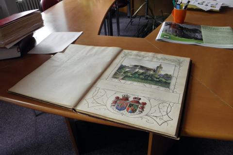 Temenice tvrz - kronika Střední odborné školy