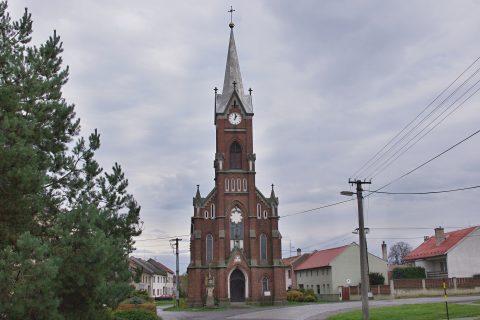 Kostel v Polkovicích