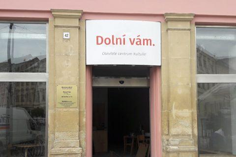 Dolní vám - nové kulturní centrum na Dolním náměstí v Olomouci
