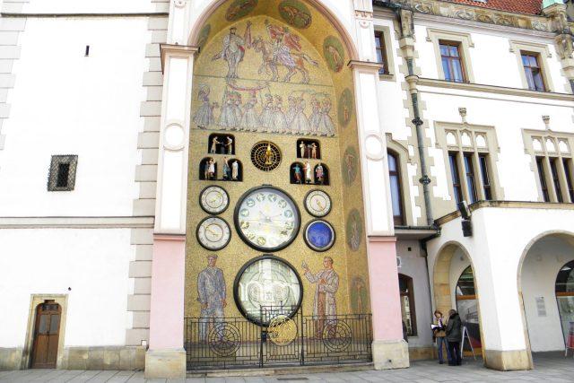 Olomoucká radnice - orloj