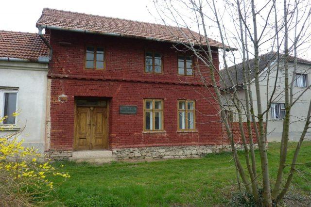 Červený domek Petra Bezruče, Kostelec na Hané