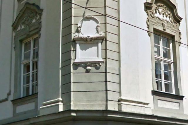 Pamětní deska R. Eitelbergera na Domě armády v Olomouci