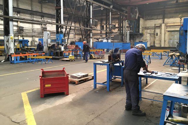 Jesenický závod Hard vyrábí ocelové konstrukce