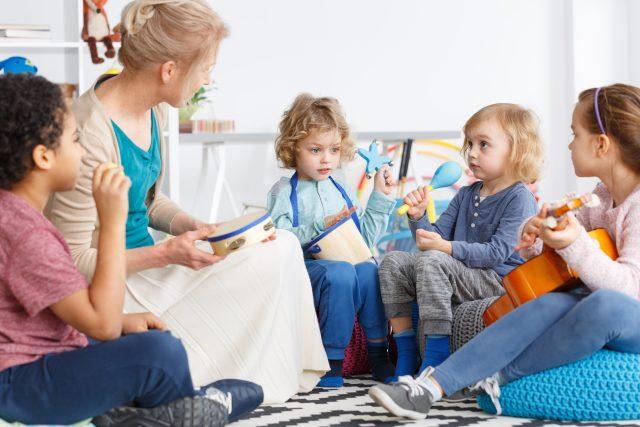 Hudební výchova (ilustrační foto)