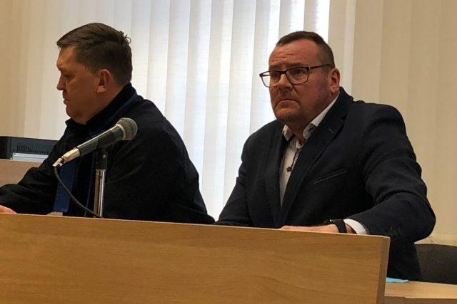 Obžalovaný bývalý přerovský radní Marek Dostál u soudu