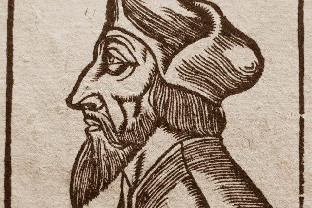 Sebastian Münster: Jan Hus | foto: Wikimedia Commons