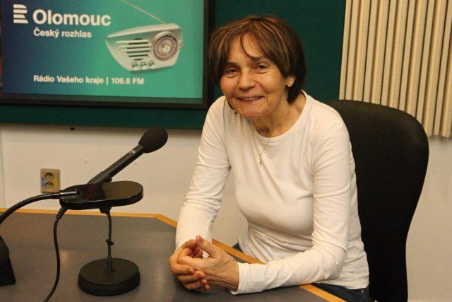 Spisovatelka Anna Strnadová