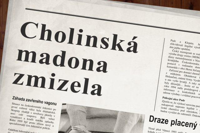 Krádež cholinské madony
