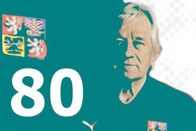 Fotbalový trenér Karel Brückner slaví osmdesátiny