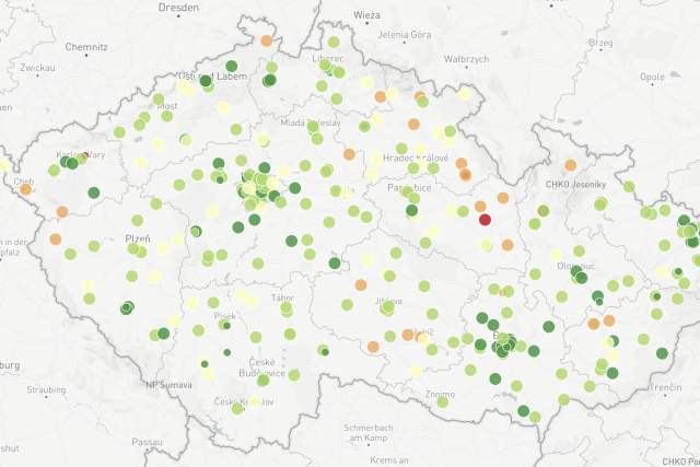 Mapa STK 2018